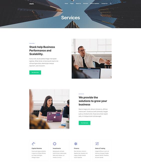 Business services Joomla template - T4 Biz