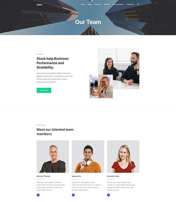 Business Joomla website bundle - T4 Biz