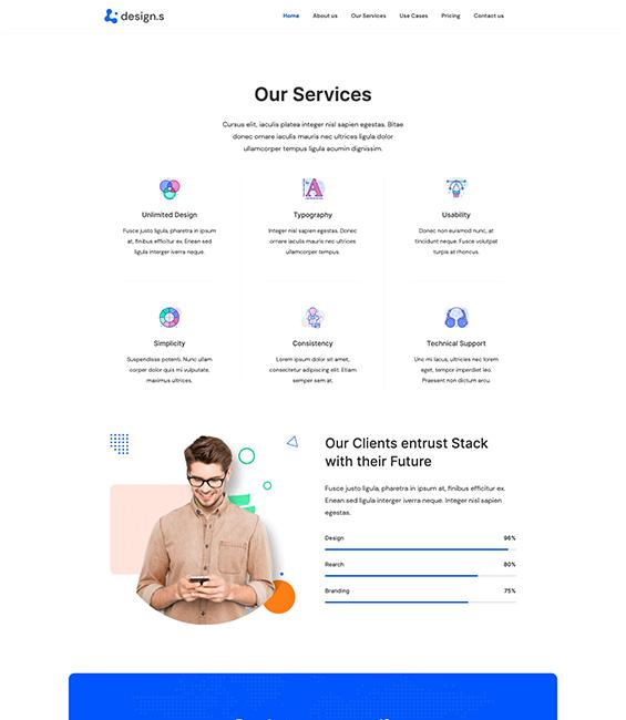 Design Services Joomla template