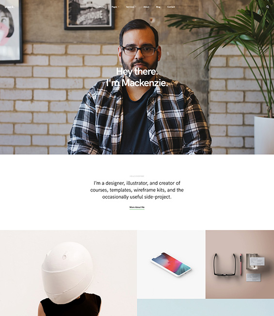 Freelancer Joomla template - T4 Freelancer