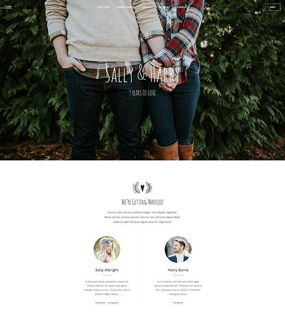 Joomla page builder website bundle for wedding - T4 Wedding