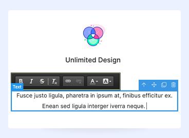 Joomla page builder inline editor