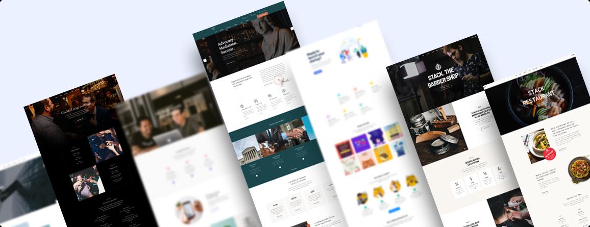 Joomla page builder website bundles